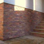 rekonštrukcia schodiska s fasádnym obkladom
