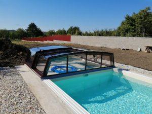 bazénové prekrytie