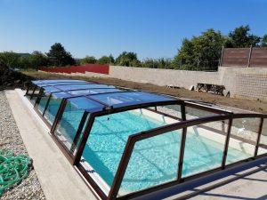 fóliový bazén s prekrytím